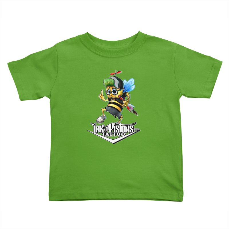 Ink and Pistons: @AdamBee Color Kids Toddler T-Shirt by Ink and Pistons | SlushBox