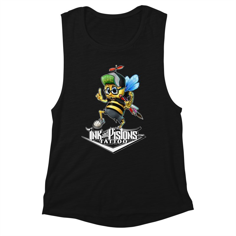 Ink and Pistons: @AdamBee Color Women's Tank by Ink and Pistons   SlushBox