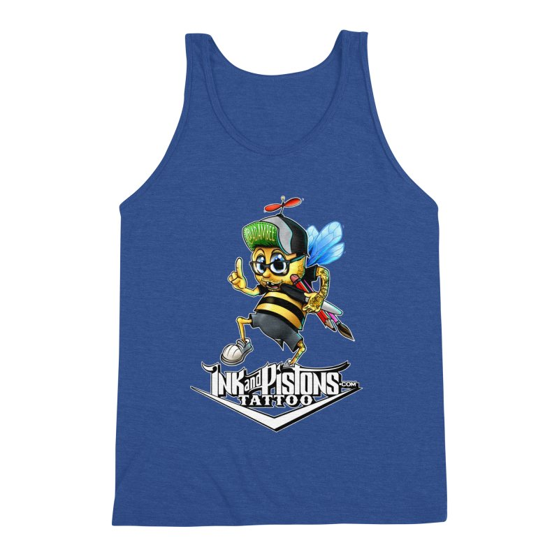 Ink and Pistons: @AdamBee Color Men's Tank by Ink and Pistons | SlushBox