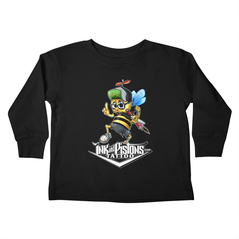 Ink and Pistons: @AdamBee Color Kids Toddler Longsleeve T-Shirt by Ink and Pistons | SlushBox