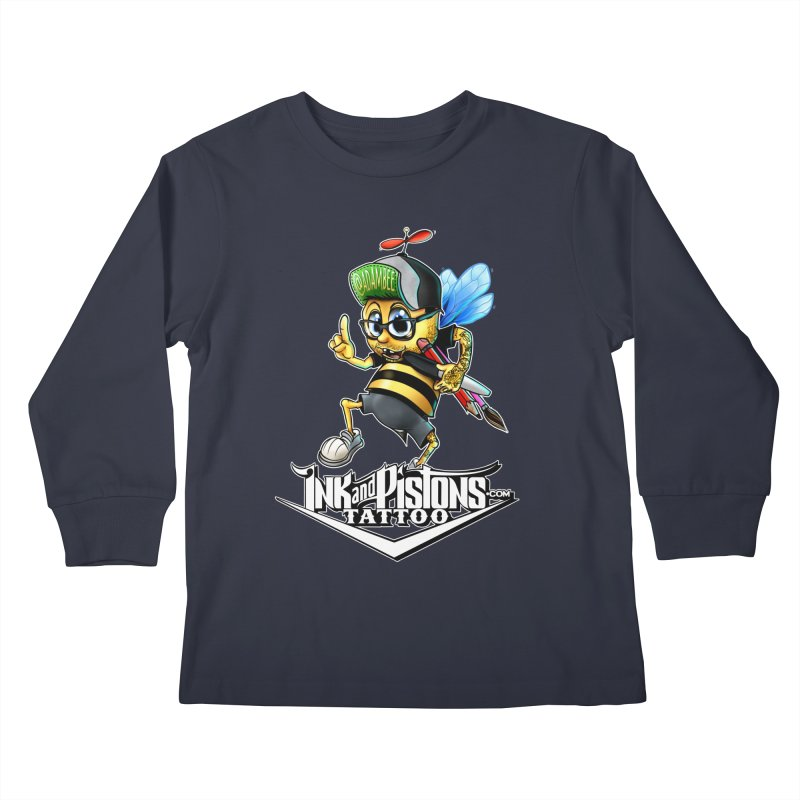 Ink and Pistons: @AdamBee Color Kids Longsleeve T-Shirt by Ink and Pistons | SlushBox