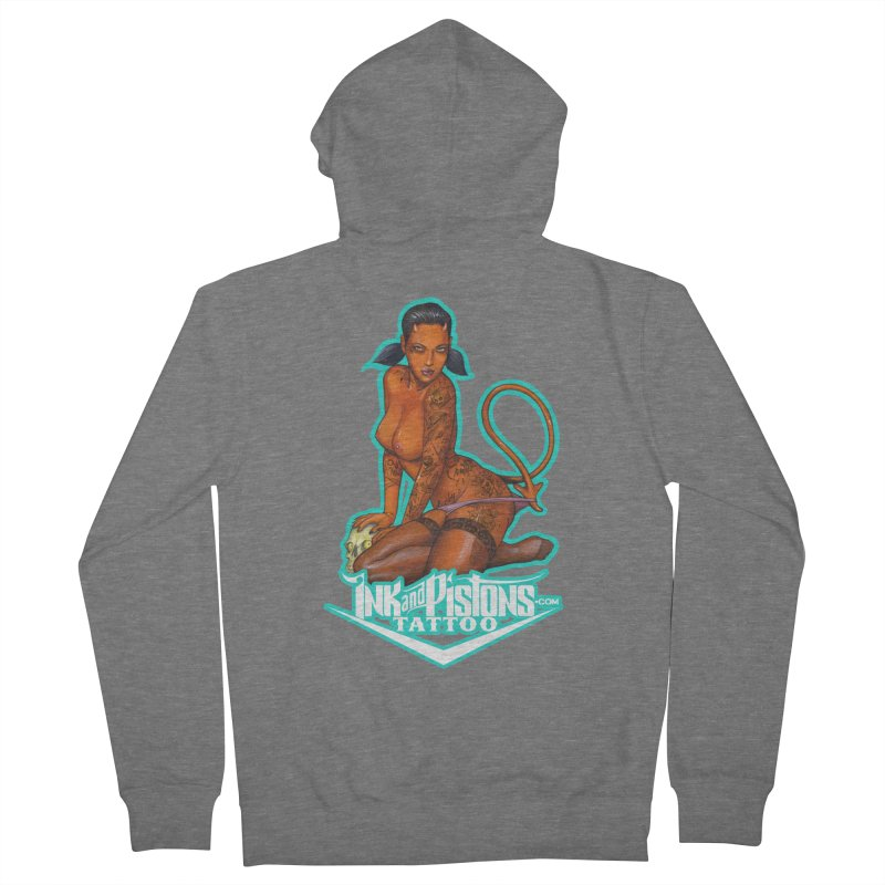 Ink and Pistons: Coop Ate My Homework Men's Zip-Up Hoody by Ink and Pistons | SlushBox