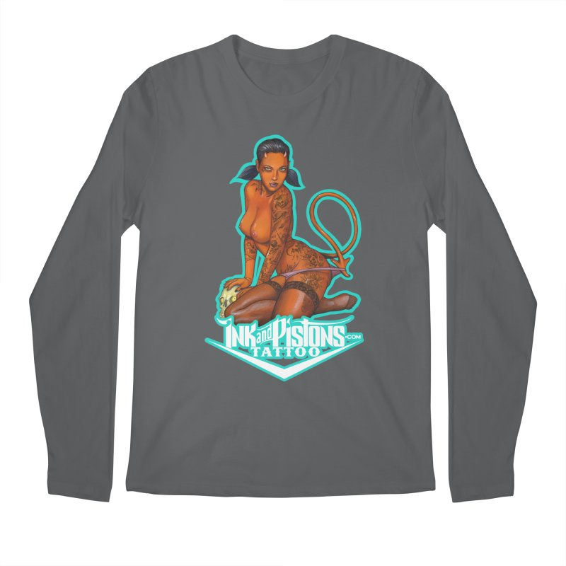 Ink and Pistons: Coop Ate My Homework Men's Longsleeve T-Shirt by Ink and Pistons | SlushBox