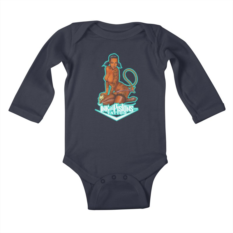 Ink and Pistons: Coop Ate My Homework Kids Baby Longsleeve Bodysuit by Ink and Pistons | SlushBox