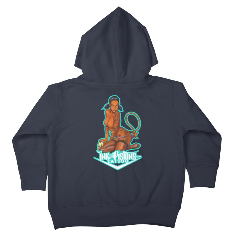 Ink and Pistons: Coop Ate My Homework Kids Toddler Zip-Up Hoody by Ink and Pistons | SlushBox