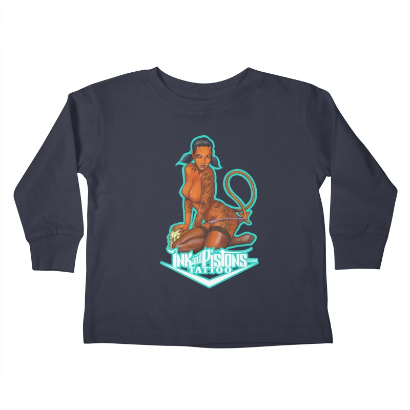Ink and Pistons: Coop Ate My Homework Kids Toddler Longsleeve T-Shirt by Ink and Pistons | SlushBox