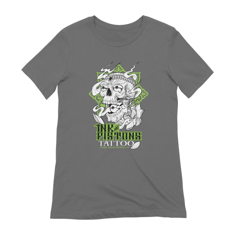 Ink and Pistons: Kapala Skull Women's T-Shirt by Ink and Pistons | SlushBox