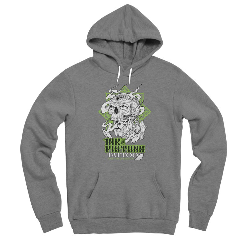 Ink and Pistons: Kapala Skull Men's Pullover Hoody by Ink and Pistons | SlushBox