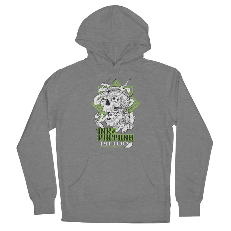 Ink and Pistons: Kapala Skull Women's Pullover Hoody by Ink and Pistons | SlushBox