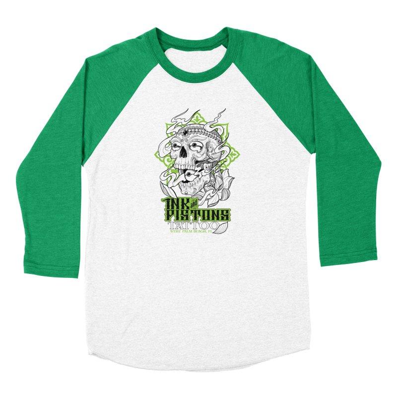 Ink and Pistons: Kapala Skull Men's Longsleeve T-Shirt by Ink and Pistons | SlushBox