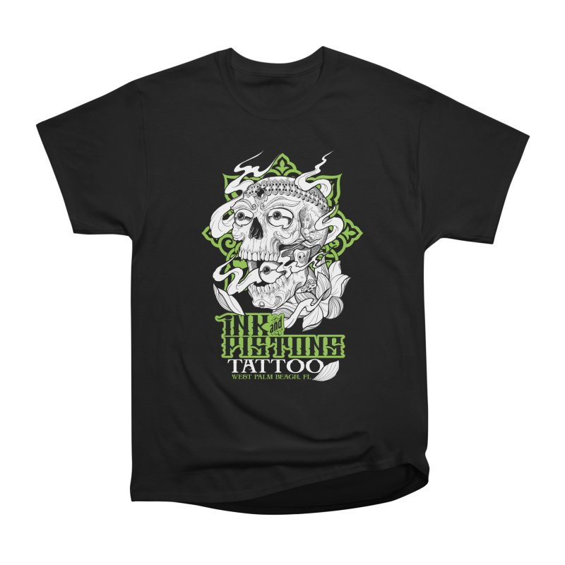 Ink and Pistons: Kapala Skull Men's T-Shirt by Ink and Pistons | SlushBox