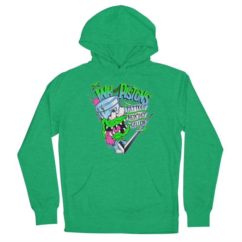 Ink and PIstons: Piston Fink! Women's Pullover Hoody by Ink and Pistons   SlushBox
