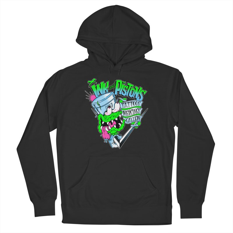 Ink and PIstons: Piston Fink! Women's Pullover Hoody by Ink and Pistons | SlushBox