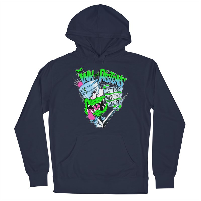 Ink and PIstons: Piston Fink! Men's Pullover Hoody by Ink and Pistons | SlushBox