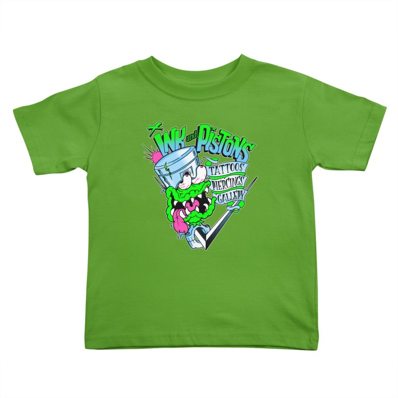 Ink and PIstons: Piston Fink! Kids Toddler T-Shirt by Ink and Pistons | SlushBox