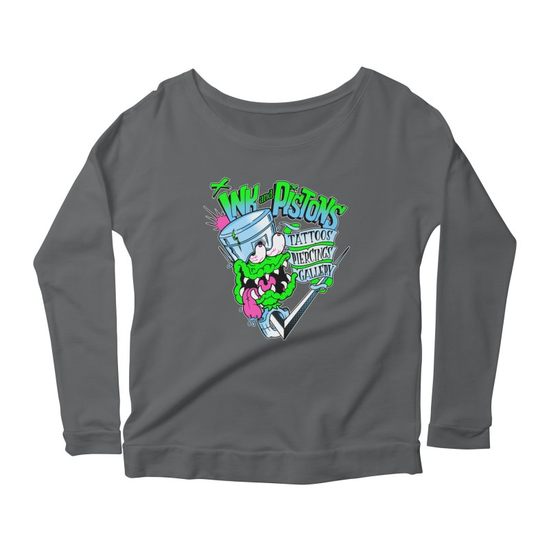 Ink and PIstons: Piston Fink! Women's Longsleeve T-Shirt by Ink and Pistons | SlushBox
