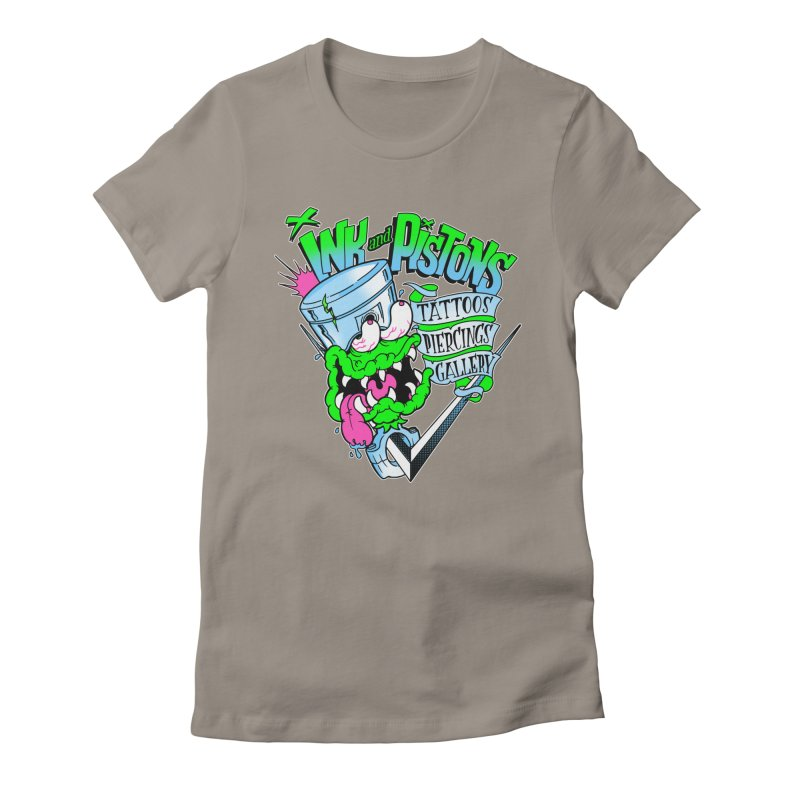 Ink and PIstons: Piston Fink! Women's T-Shirt by Ink and Pistons   SlushBox