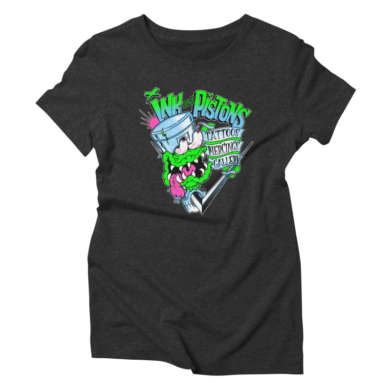 Ink and PIstons: Piston Fink! Women's T-Shirt by Ink and Pistons | SlushBox