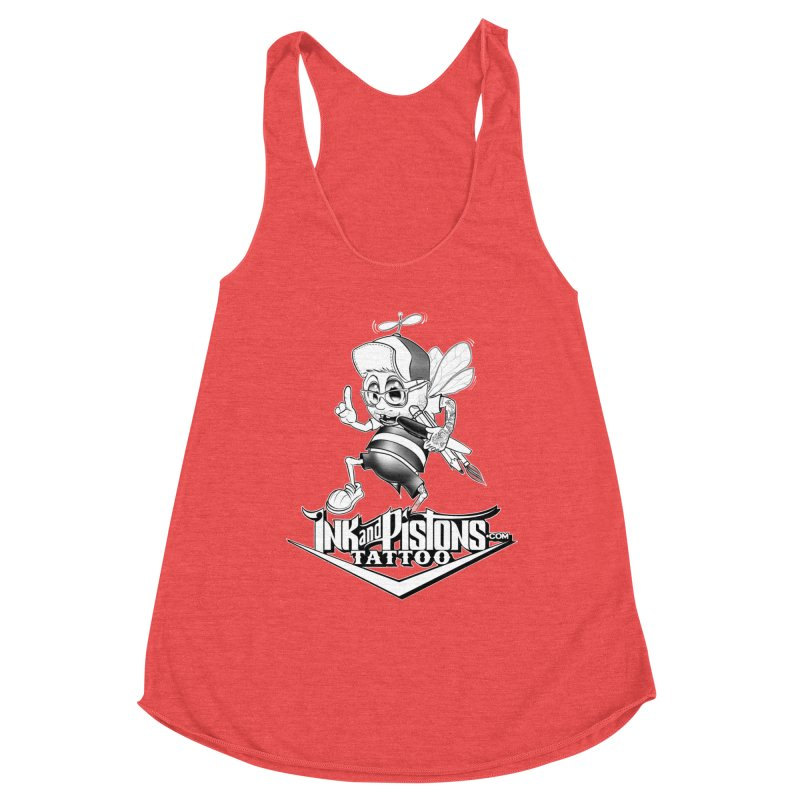 Ink and Pistons: @AdamBee Black and White Women's Tank by Ink and Pistons | SlushBox
