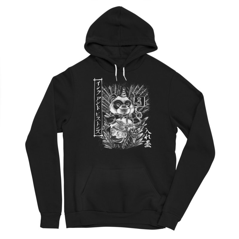 Ink and Pistons: Panda Ramen Men's Pullover Hoody by Ink and Pistons   SlushBox