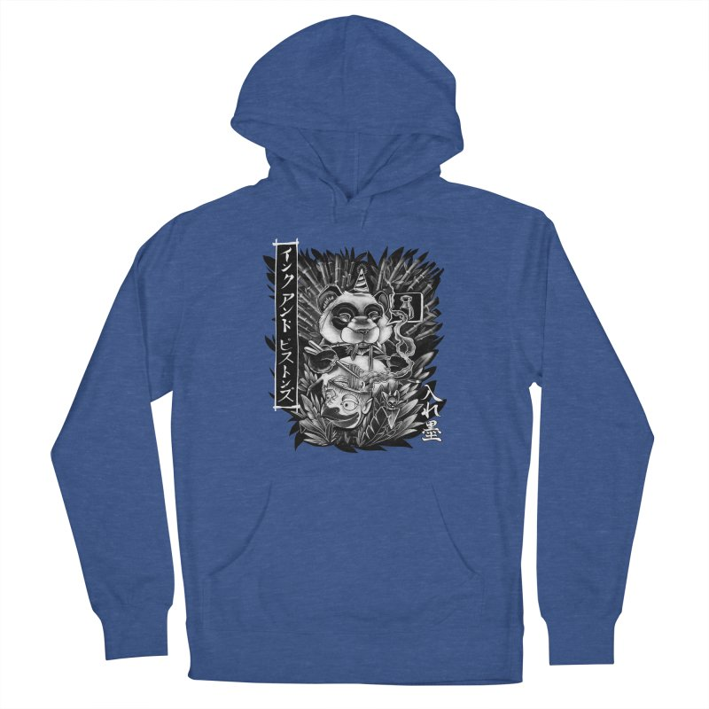 Ink and Pistons: Panda Ramen Men's Pullover Hoody by Ink and Pistons | SlushBox