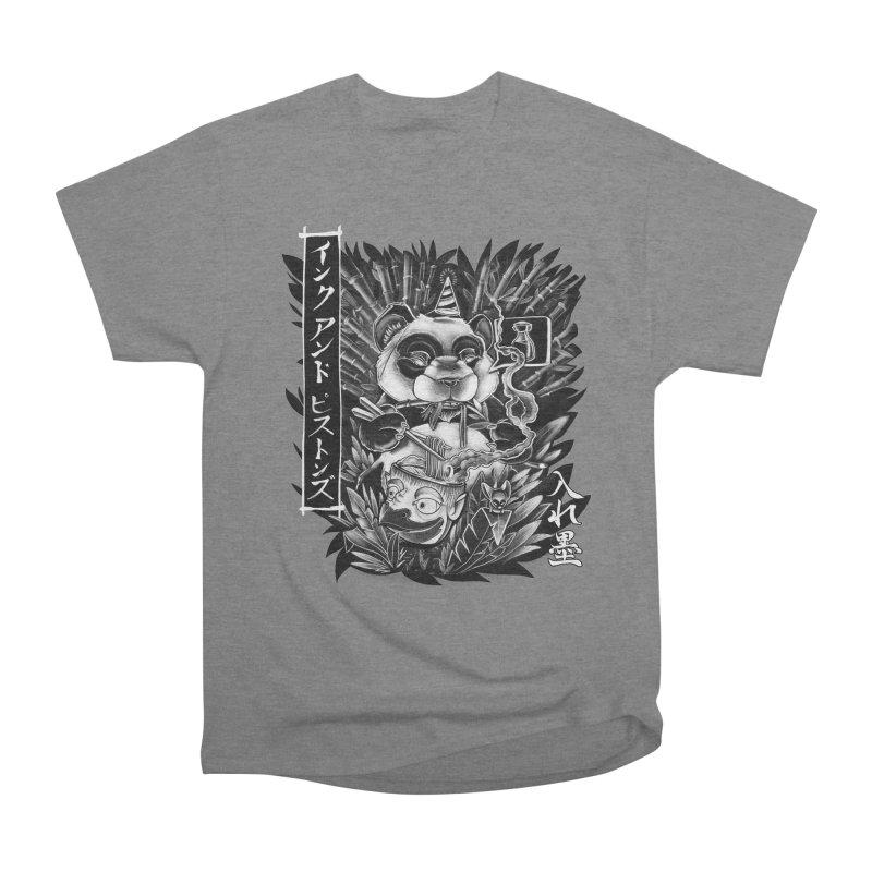 Ink and Pistons: Panda Ramen Women's T-Shirt by Ink and Pistons | SlushBox