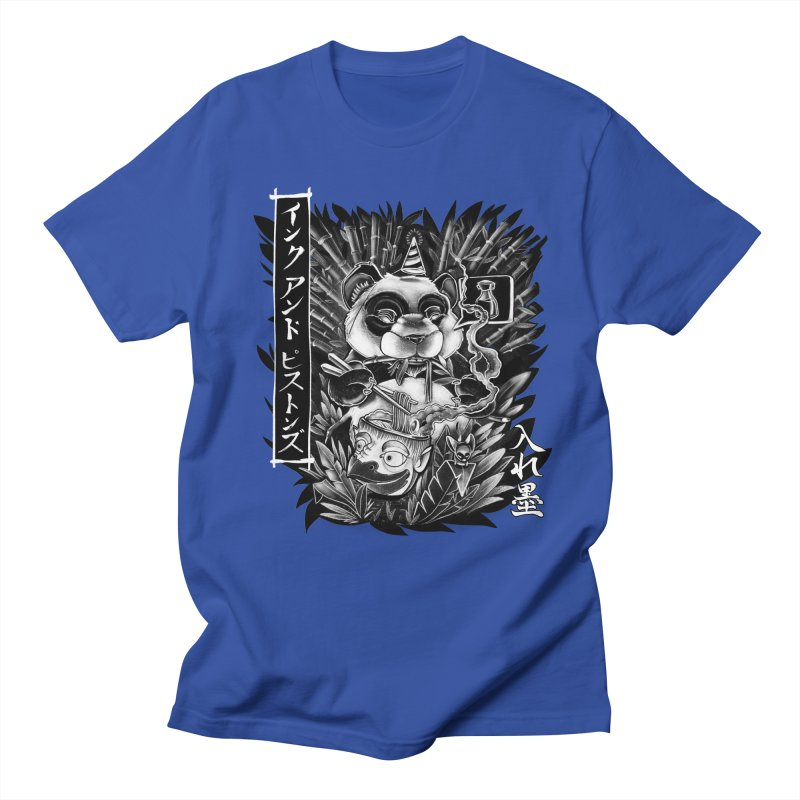 Ink and Pistons: Panda Ramen Men's T-Shirt by Ink and Pistons | SlushBox