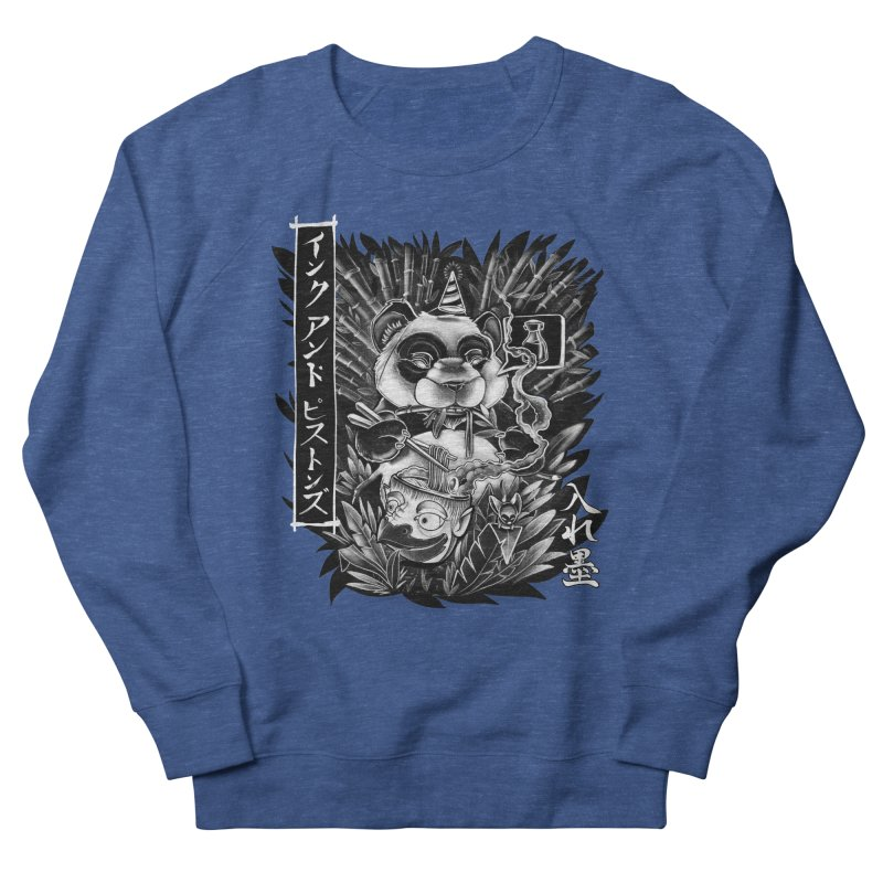 Ink and Pistons: Panda Ramen Women's Sweatshirt by Ink and Pistons | SlushBox