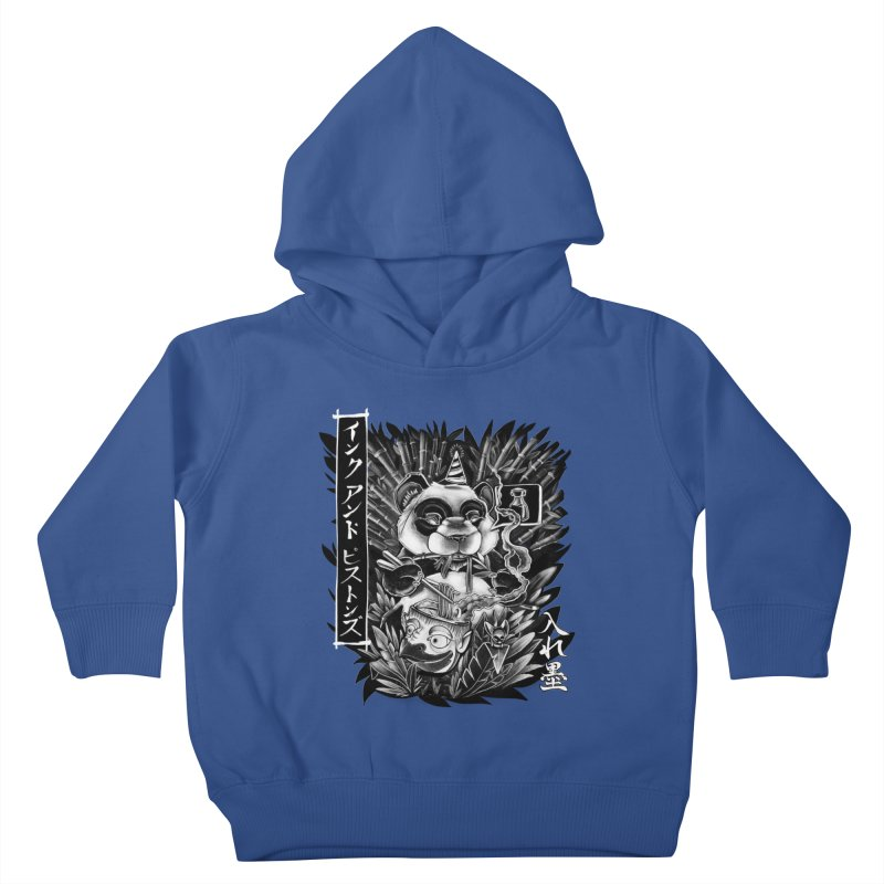 Ink and Pistons: Panda Ramen Kids Toddler Pullover Hoody by Ink and Pistons | SlushBox