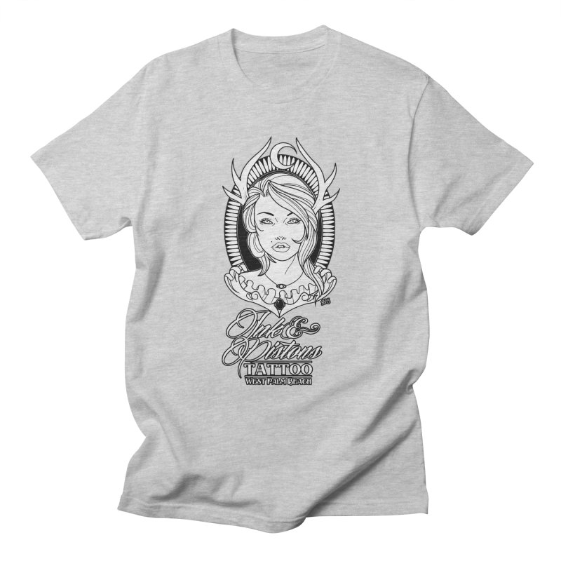 Ink and Pistons: @InvertedPixel Goddess Men's T-Shirt by Ink and Pistons | SlushBox