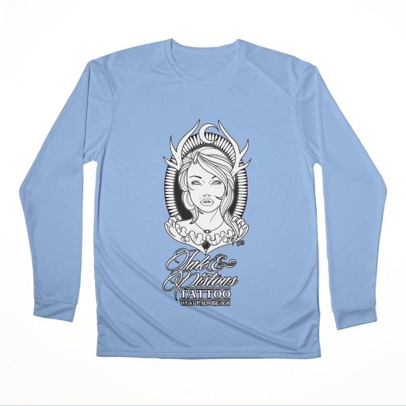 Ink and Pistons: @InvertedPixel Goddess Women's Longsleeve T-Shirt by Ink and Pistons | SlushBox
