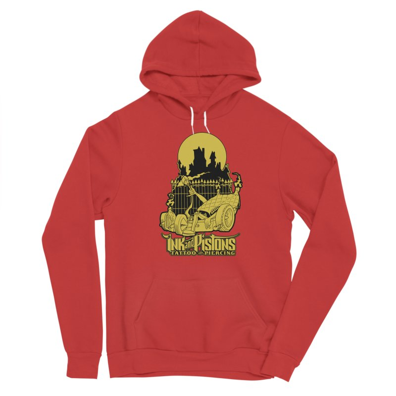 Ink and Pistons: @skud_007 Graveyard Dragster Men's Pullover Hoody by Ink and Pistons | SlushBox