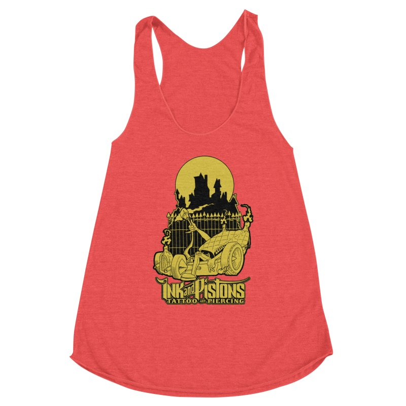 Ink and Pistons: @skud_007 Graveyard Dragster Women's Tank by Ink and Pistons | SlushBox