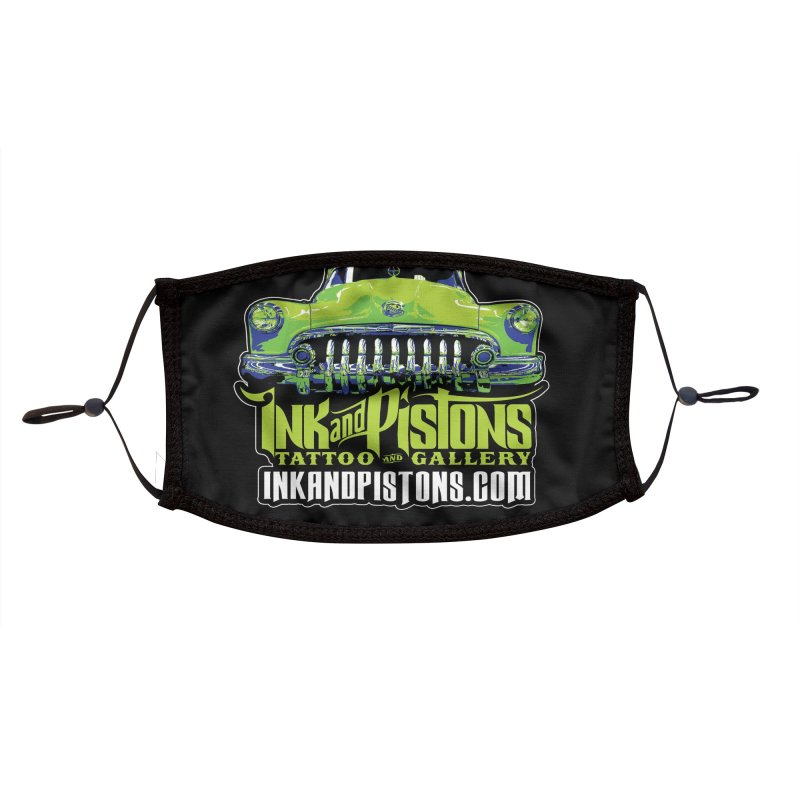 Ink and Pistons: Grille Mask Accessories Face Mask by Ink and Pistons | SlushBox