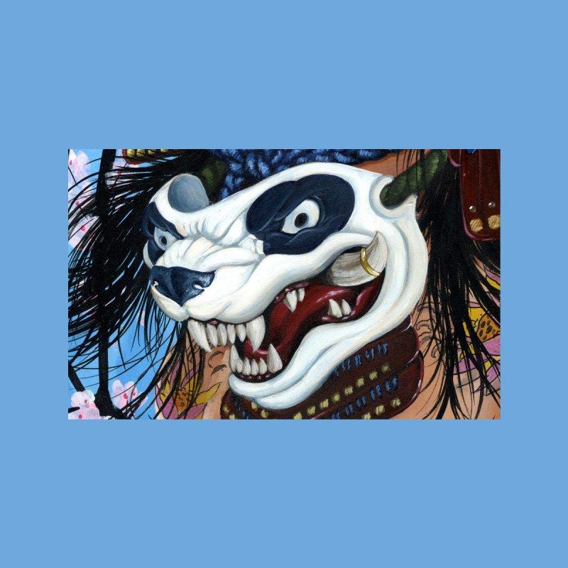Ink and Pistons : Panda Bushi Face Mask Accessories Face Mask by Ink and Pistons | SlushBox