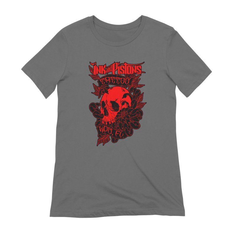Ink and Pistons: Skull Mum Women's T-Shirt by Ink and Pistons | SlushBox