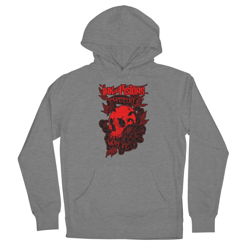 Ink and Pistons: Skull Mum Women's Pullover Hoody by Ink and Pistons | SlushBox
