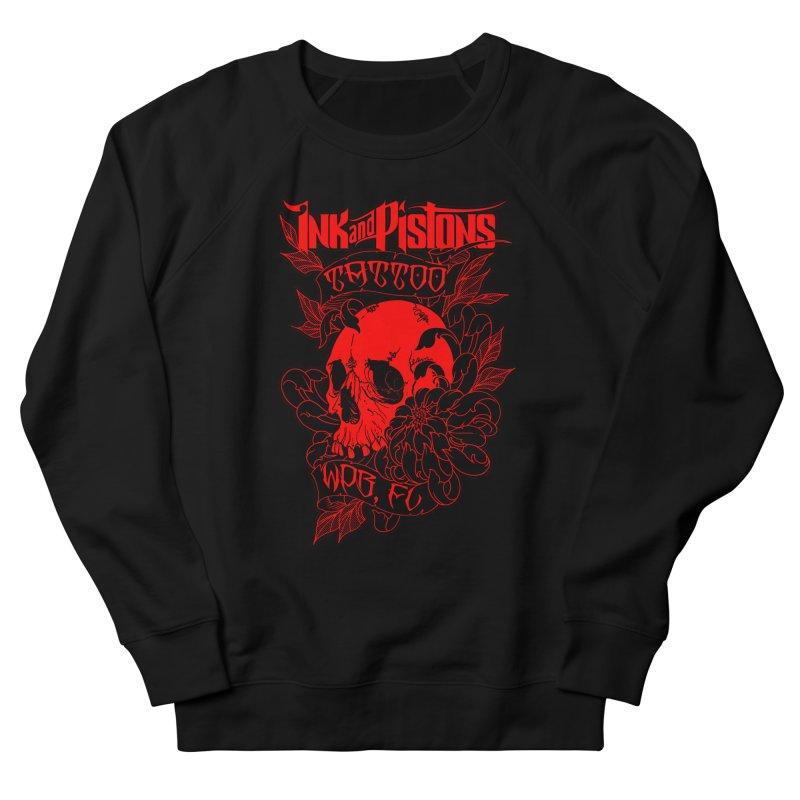 Ink and Pistons: Skull Mum Men's Sweatshirt by Ink and Pistons | SlushBox