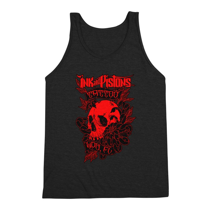 Ink and Pistons: Skull Mum Men's Tank by Ink and Pistons | SlushBox