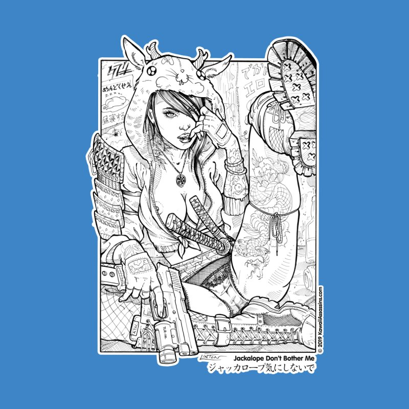 Kawaii Assassins: Jackalope Don't Bother Me Women's T-Shirt by Ink and Pistons   SlushBox