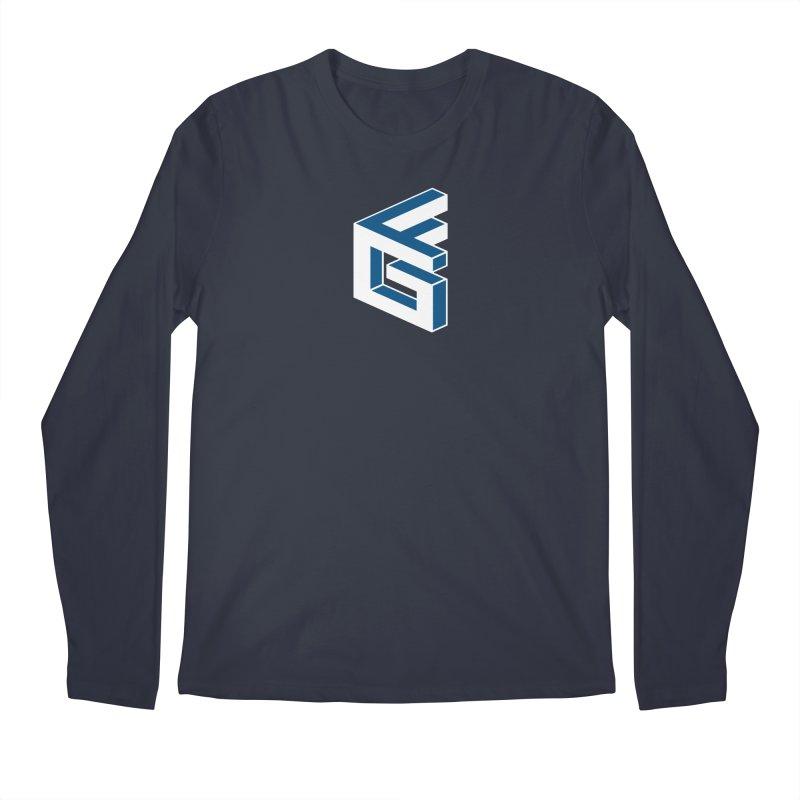Fathergamer Merchandise Men's Longsleeve T-Shirt by slvrhwks's Artist Shop