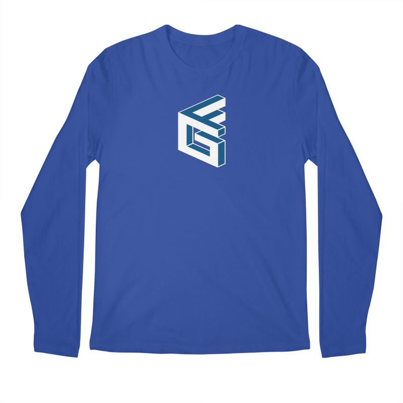 Fathergamer Merchandise Men's Regular Longsleeve T-Shirt by slvrhwks's Artist Shop