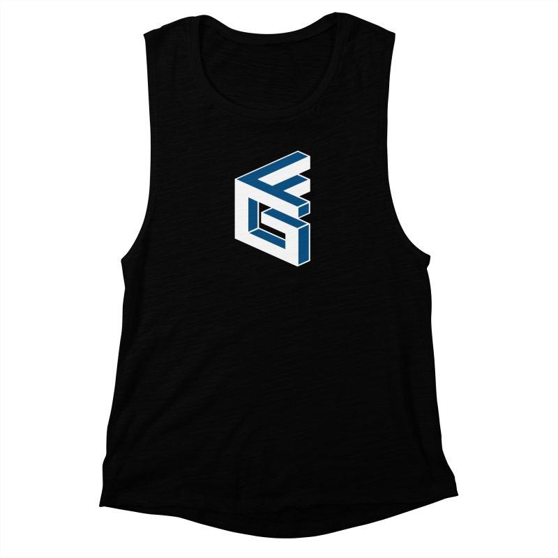 Fathergamer Merchandise Women's Muscle Tank by slvrhwks's Artist Shop
