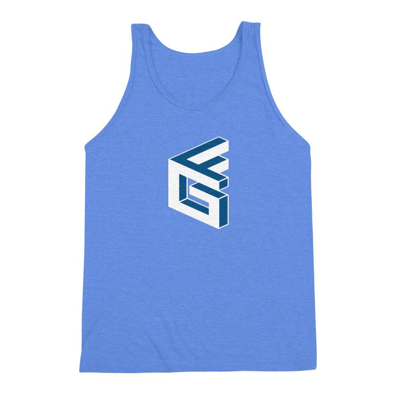 Fathergamer Merchandise Men's Triblend Tank by slvrhwks's Artist Shop
