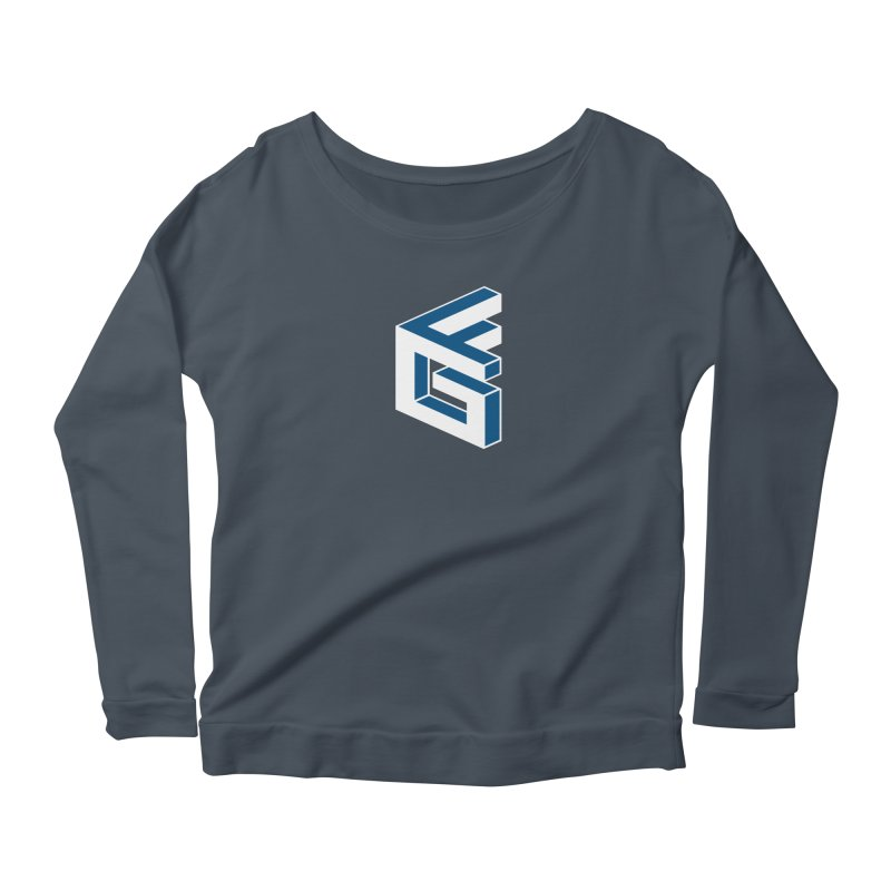 Fathergamer Merchandise Women's Scoop Neck Longsleeve T-Shirt by slvrhwks's Artist Shop