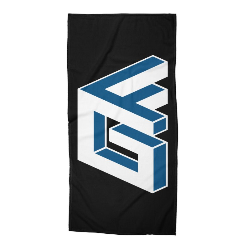Fathergamer Merchandise Accessories Beach Towel by slvrhwks's Artist Shop