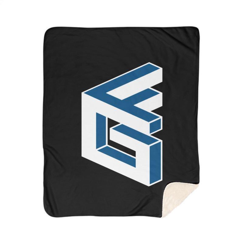 Fathergamer Merchandise Home Sherpa Blanket Blanket by slvrhwks's Artist Shop