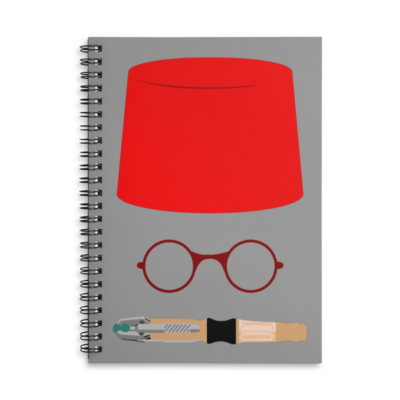 Tuxedo Who Accessories Notebook by slvrhwks's Artist Shop