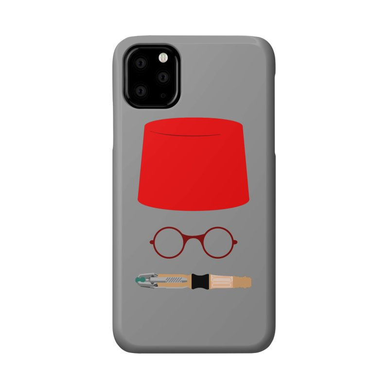 Tuxedo Who Accessories Phone Case by slvrhwks's Artist Shop