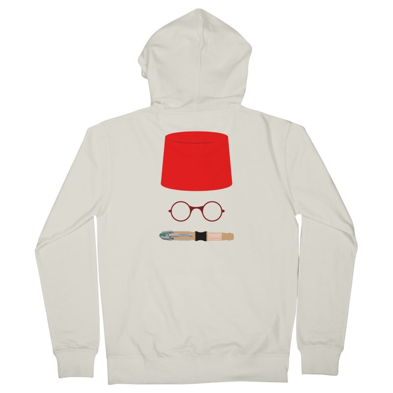 Tuxedo Who Women's Zip-Up Hoody by slvrhwks's Artist Shop